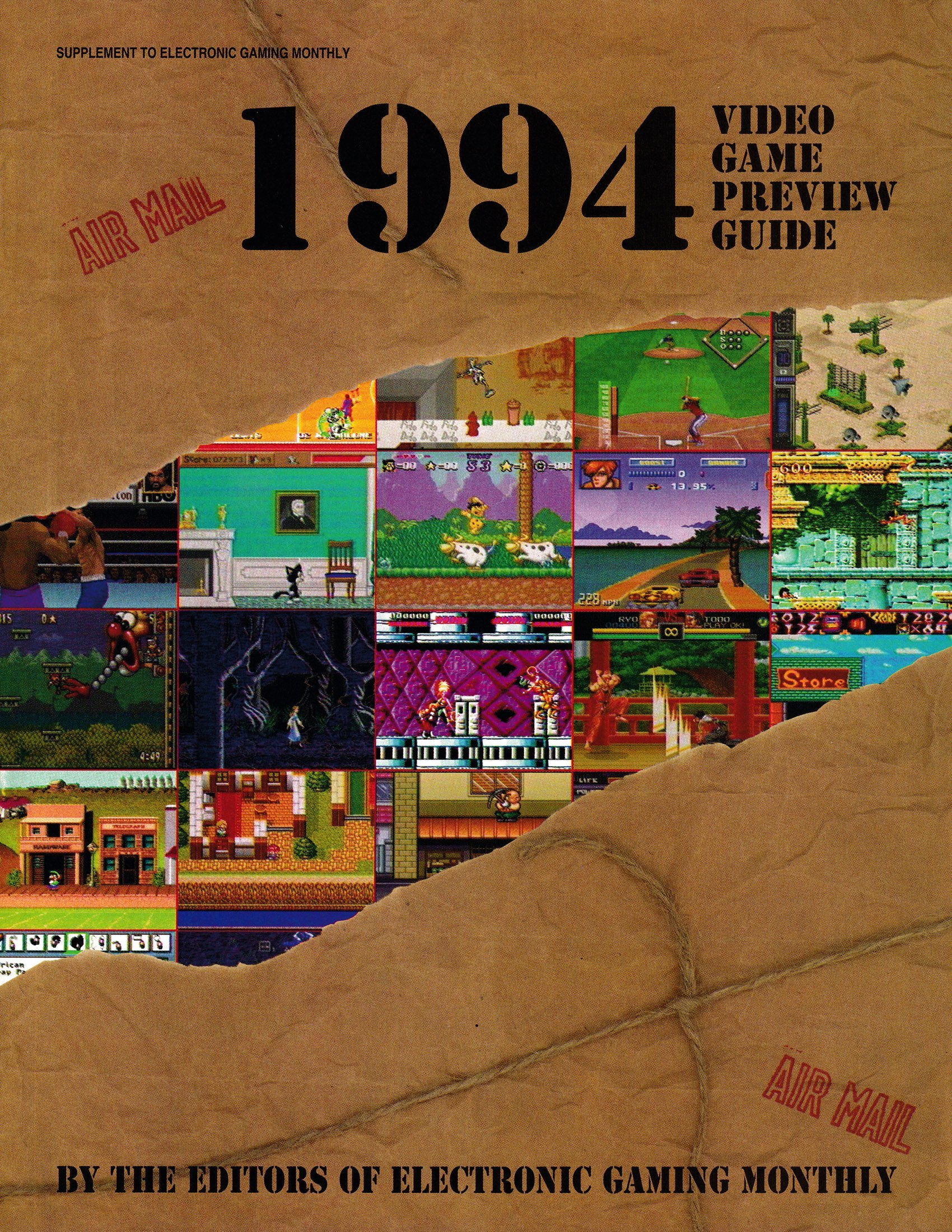 Video Game Preview Guide (1994)