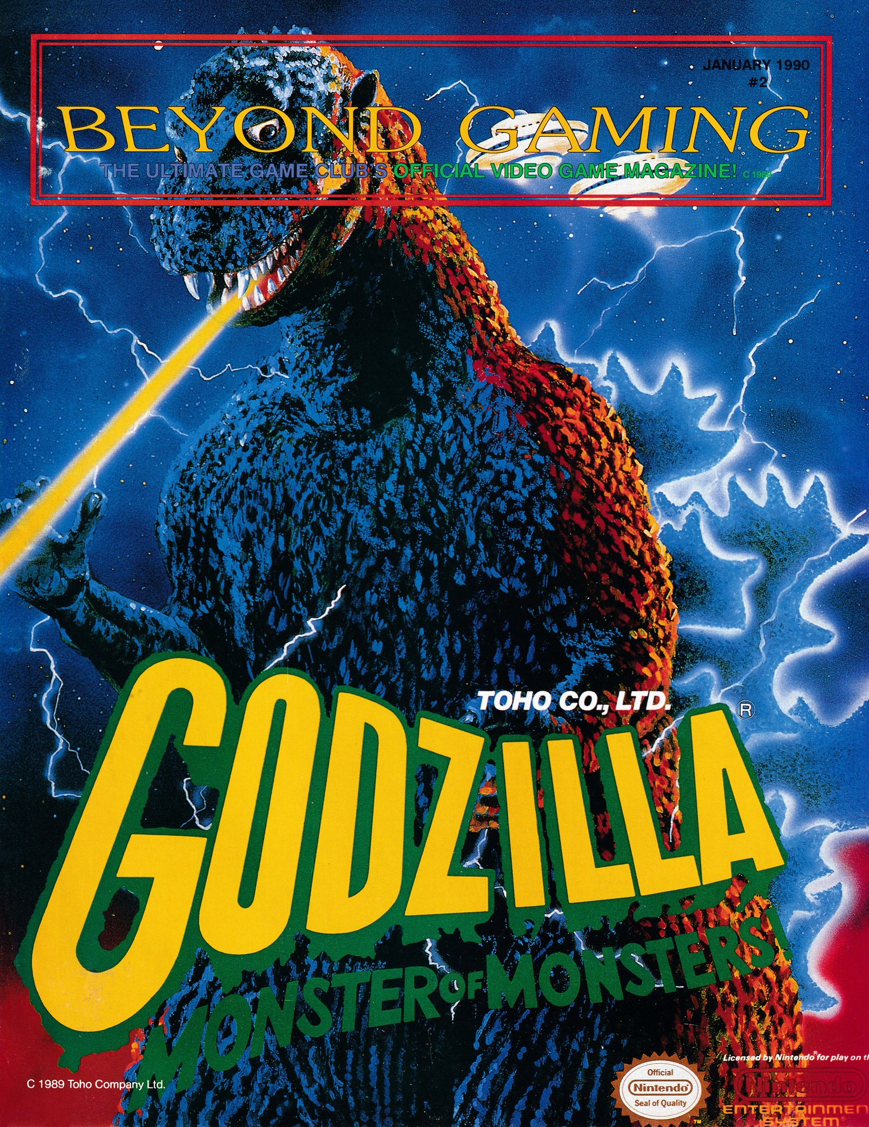 Beyond Gaming Issue 2 (January 1990)