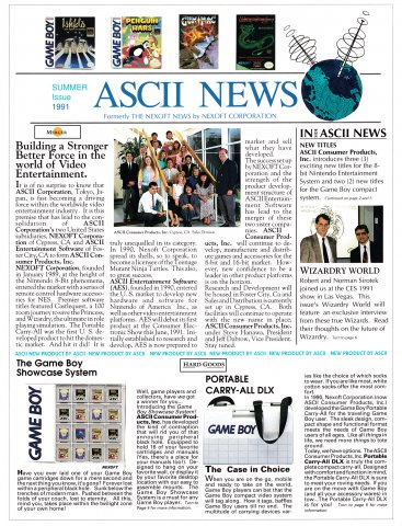 Ascii News (Summer 1991)