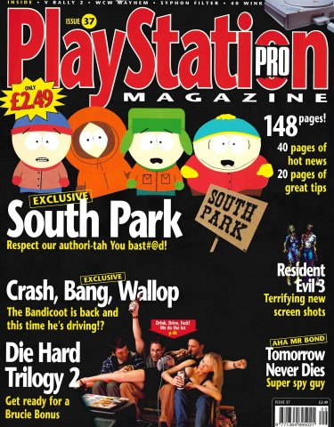 PlayStation Pro Issue 37 (August 1999)