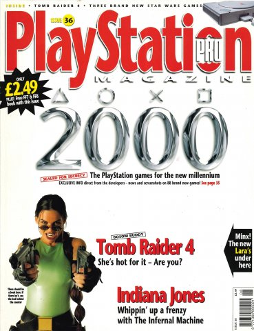 PlayStation Pro Issue 36 (July 1999)