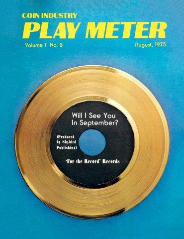 Play Meter Vol.1 No.8 (August 1975)