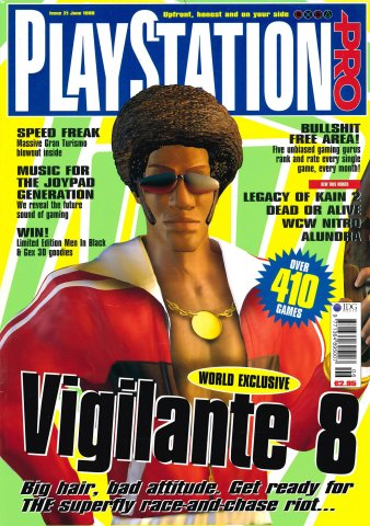 PlayStation Pro Issue 21 (June 1998)