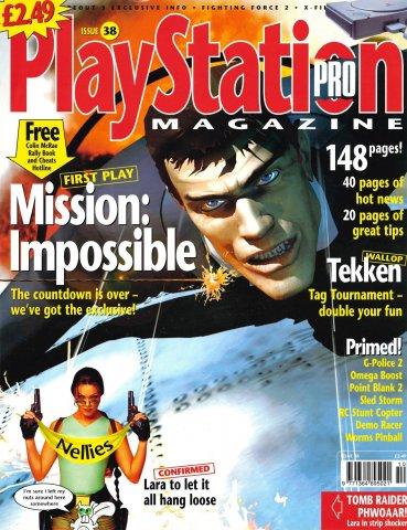 PlayStation Pro Issue 38 (September 1999)