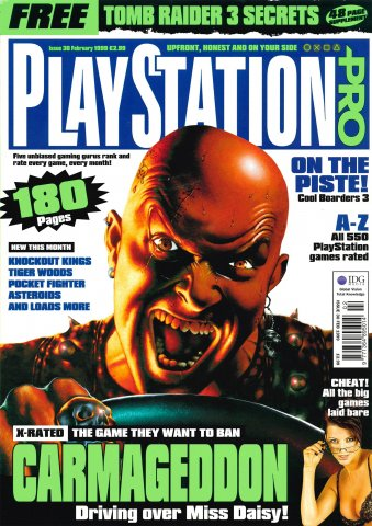 PlayStation Pro Issue 30 (February 1999)