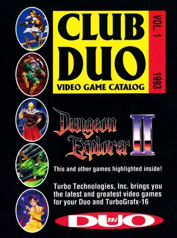 Club Duo Video Game Catalog Volume 1 (1993)