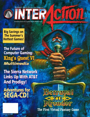 InterAction Issue 18 (Volume 6 Number 2) Summer 1993