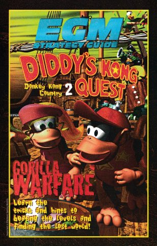 Strategy Guide from Issue 077 December 1995 - Donkey Kong Country 2