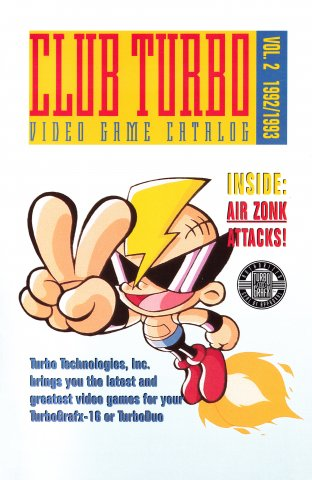 Club Turbo Catalog of Games Volume 2 (1992-1993)