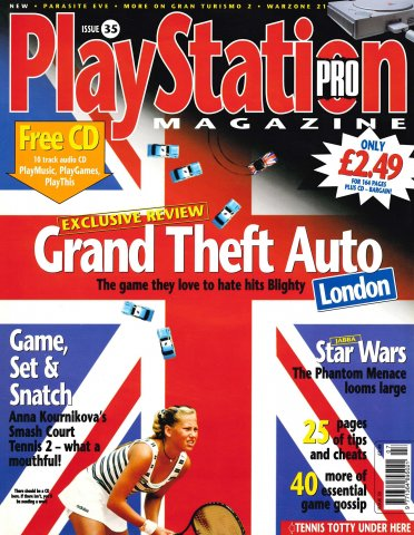 PlayStation Pro Issue 35 (June 1999)