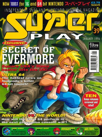 Super Play Issue 39 (January 1996)