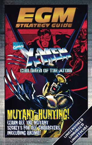 Strategy Guide from Issue 080 March 1996 - X Men Children Of The Atom