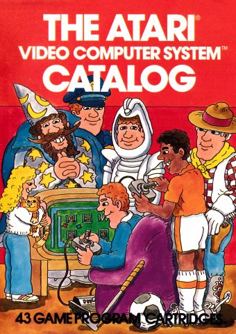 The Atari Video Computer System Catalog (1981)