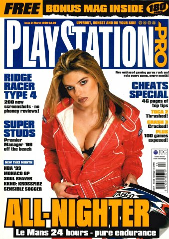 PlayStation Pro Issue 31 (March 1999)