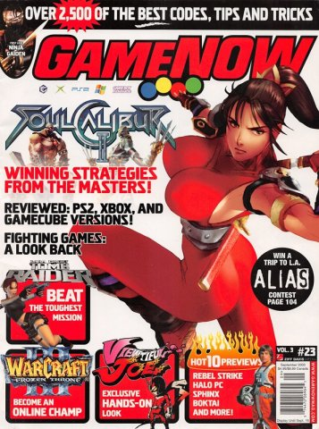 GameNOW Issue 23 September 2003