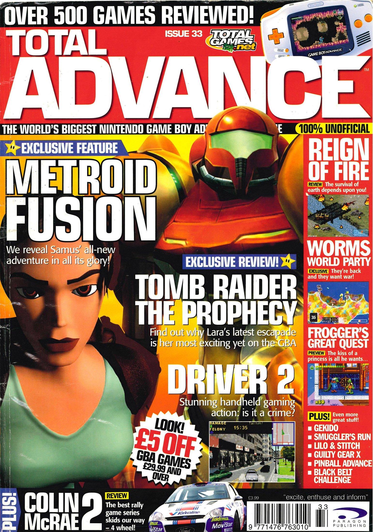 Total Advance Issue 33 (September 2002)