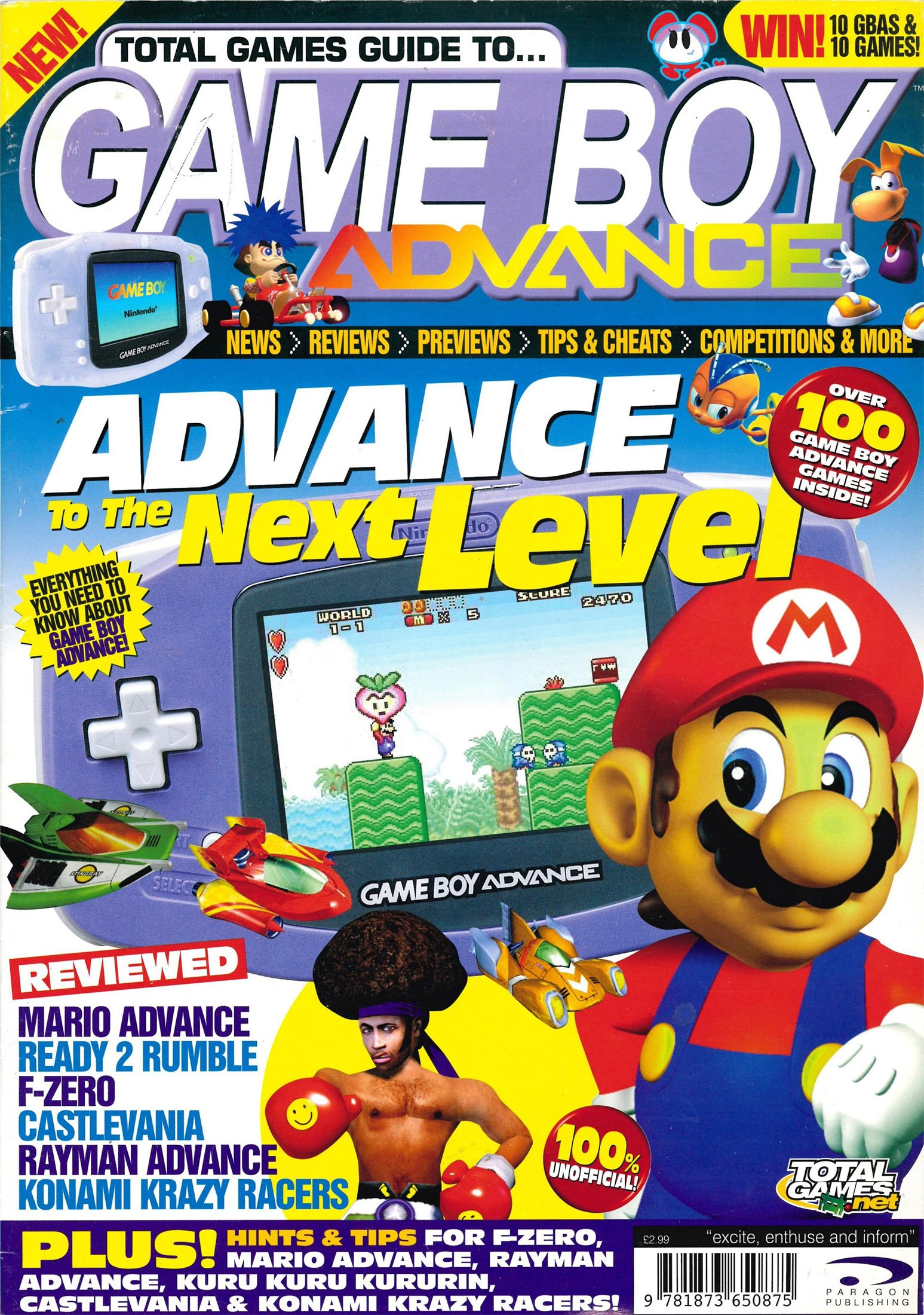 Total Games Guide To.. Gameboy Advance Issue 01