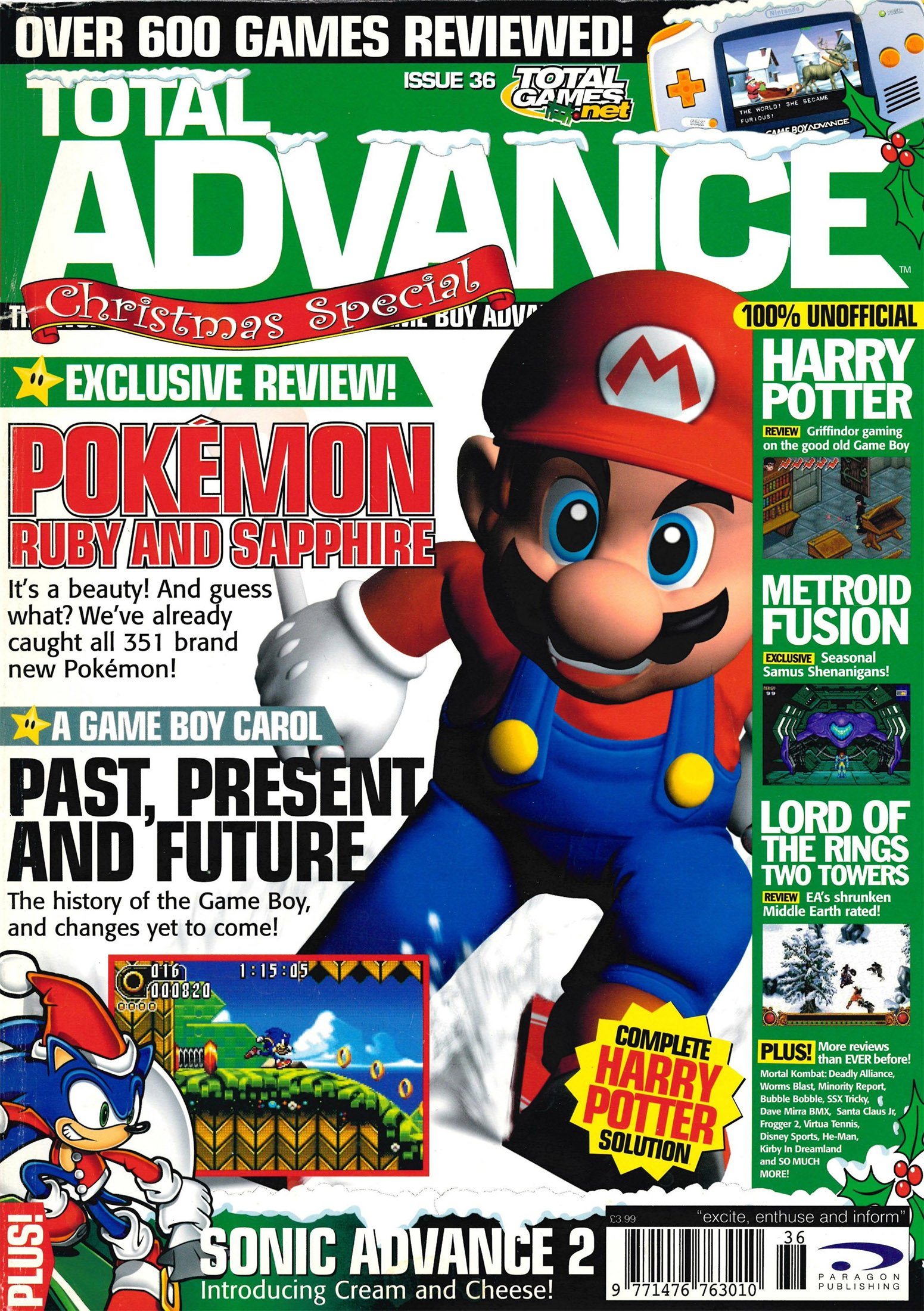 Total Advance Issue 36 (December 2002)