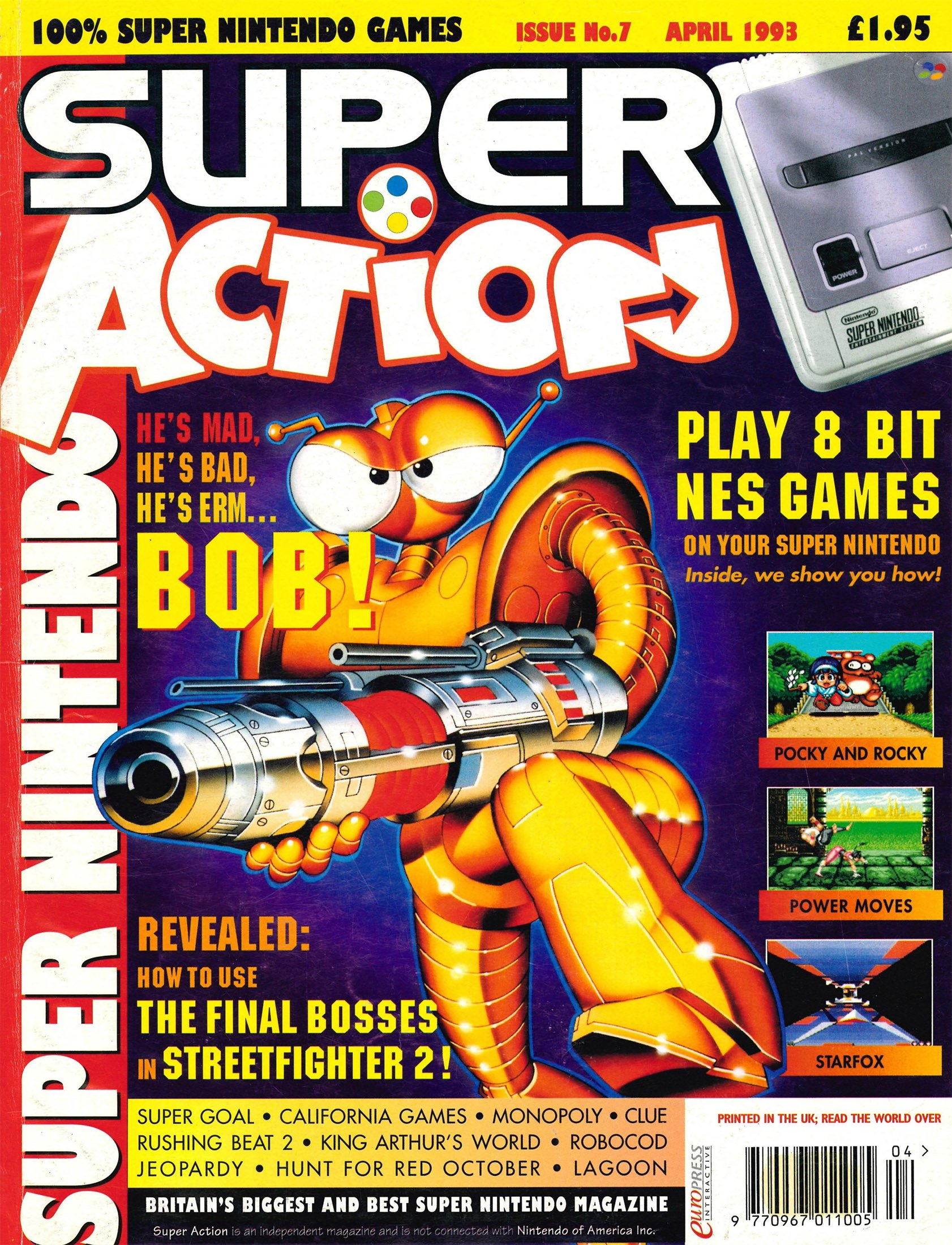 Super Action Issue 07 (April 1993)
