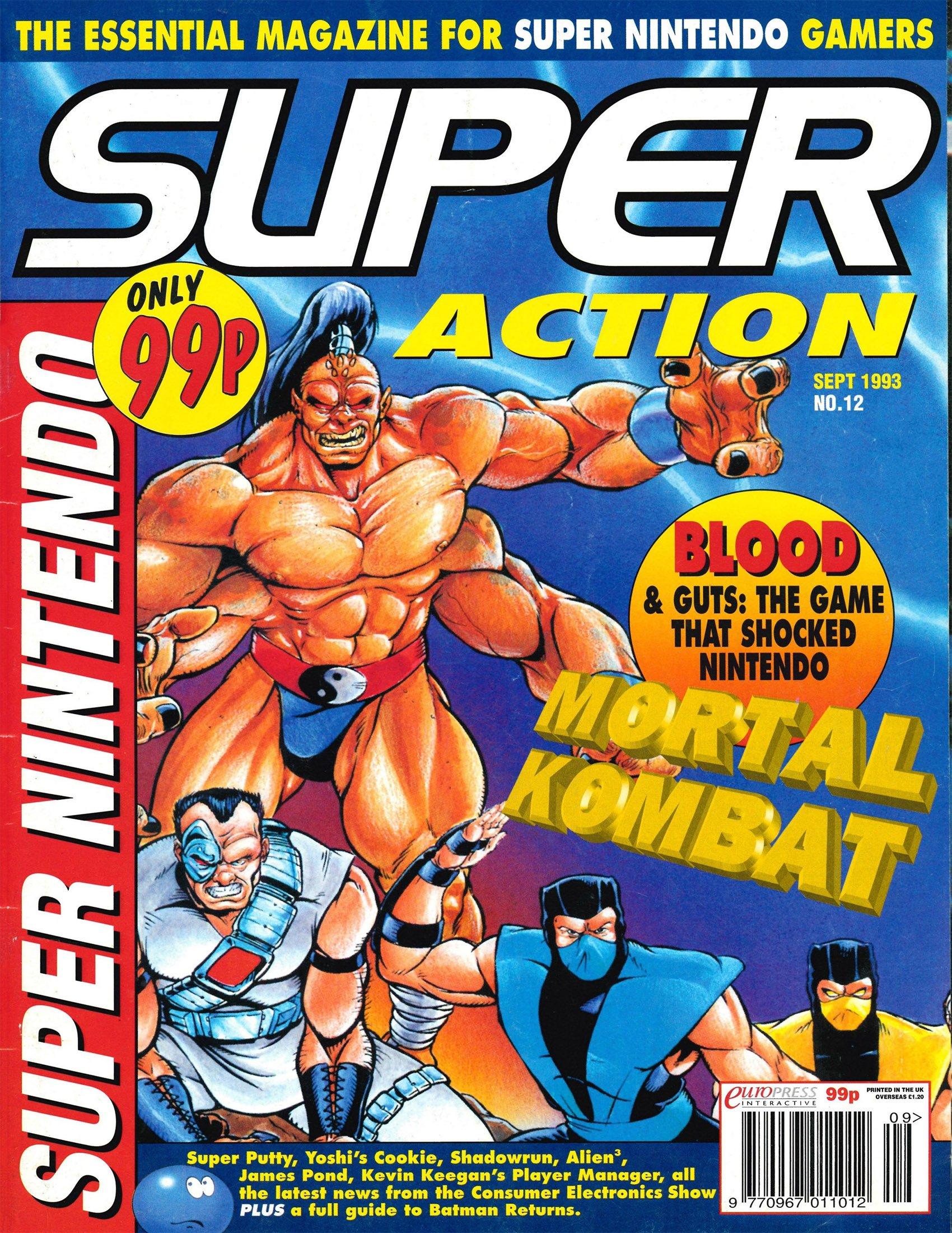 Super Action Issue 12 (September 1993)