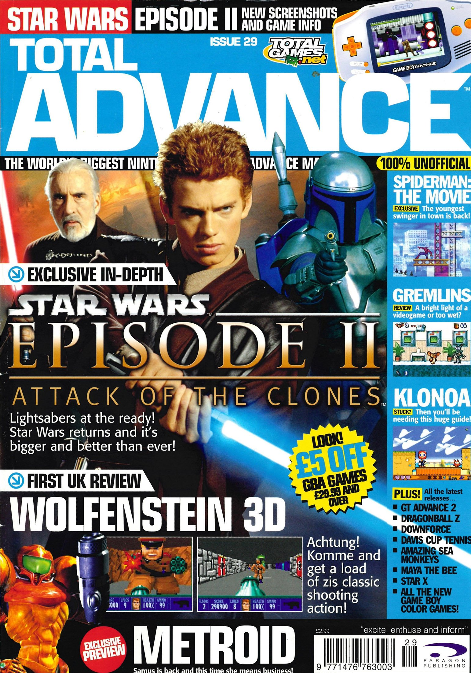 Total Advance Issue 29 (May 2002)