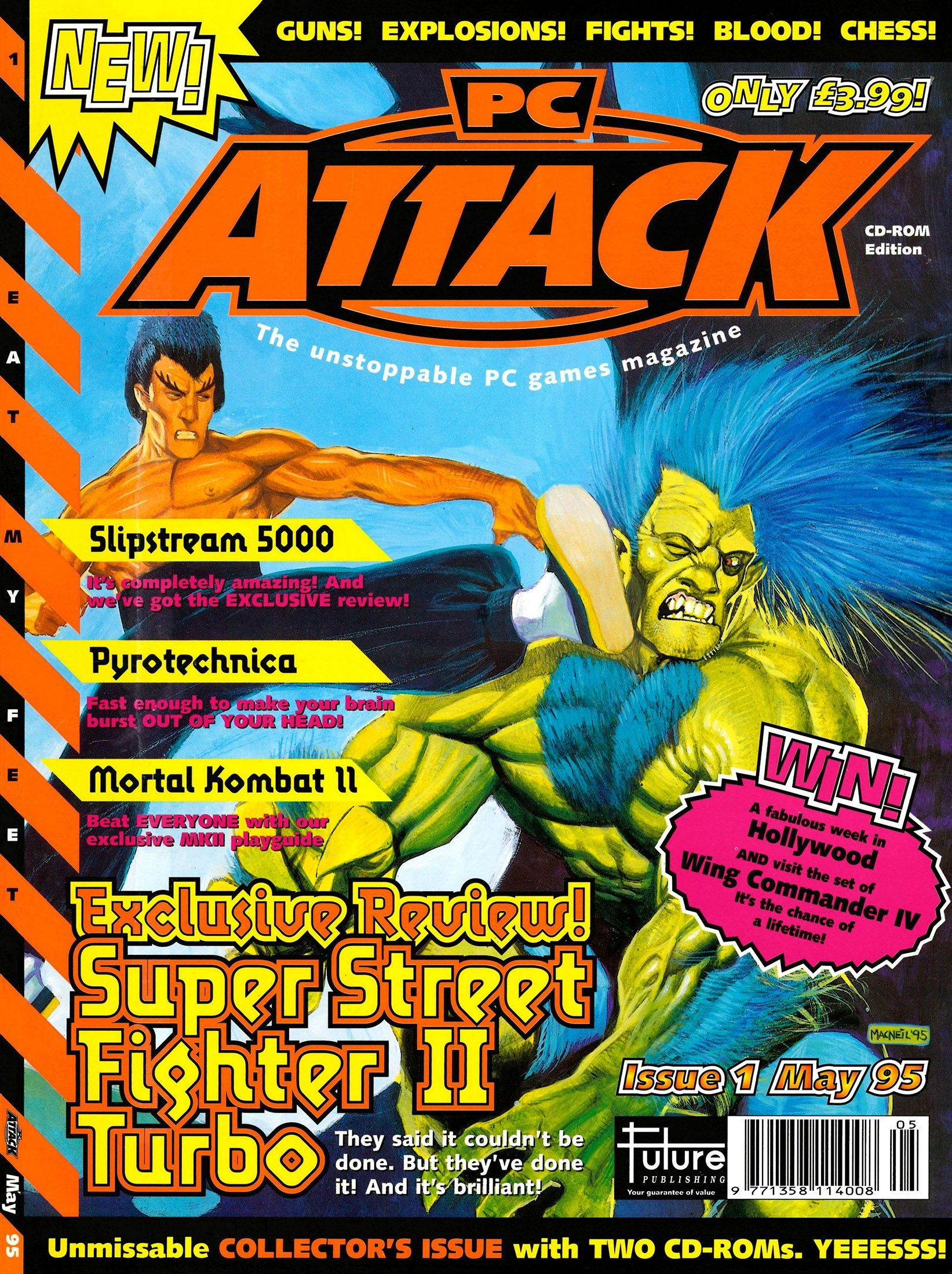 PC Attack Issue 01 (May 1995)