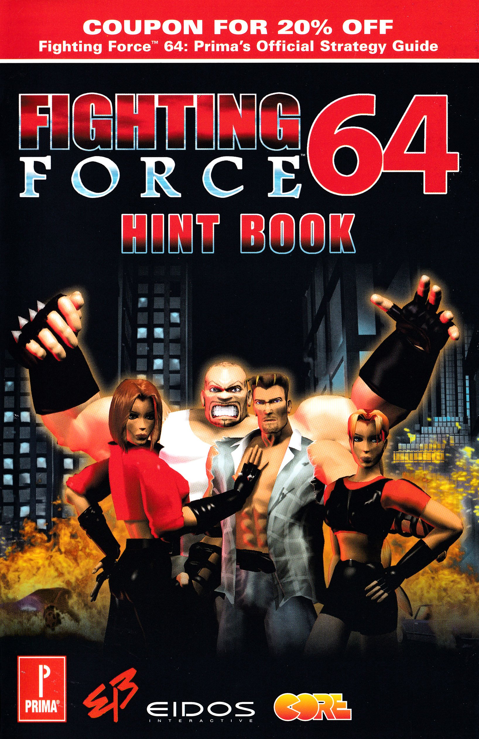 Fighting Force 64 Hint Book