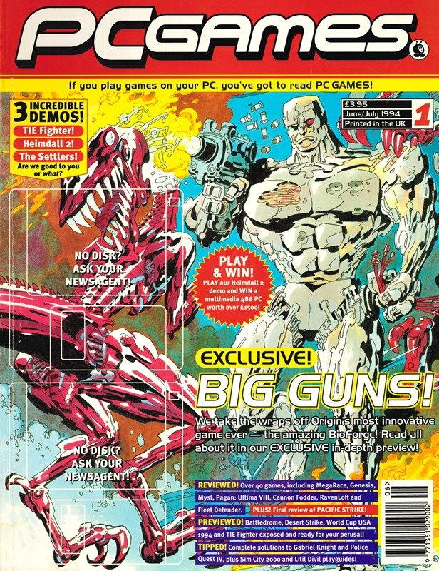 PCGames Issue 01 (June/July 1994)