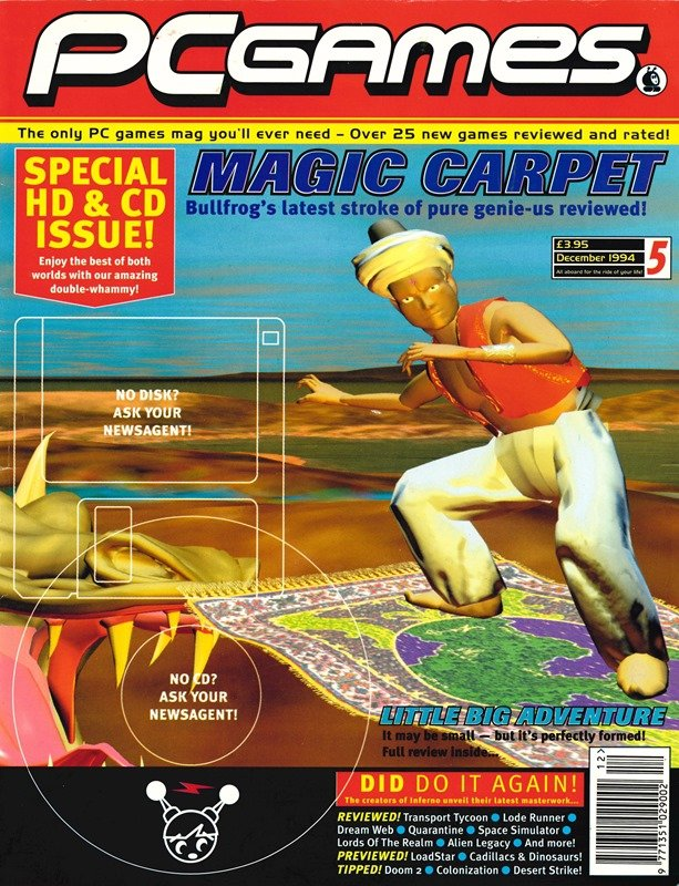 PCGames Issue 05 (December 1994)