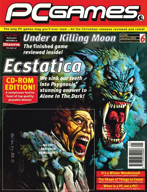 PCGames Issue 06 (January 1995)