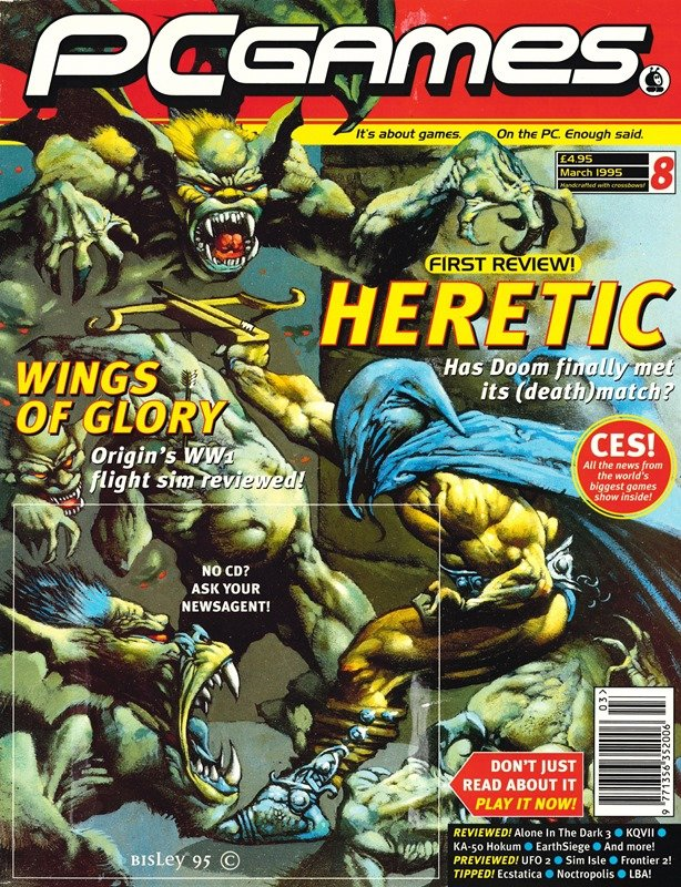 PCGames Issue 08 (March 1995)