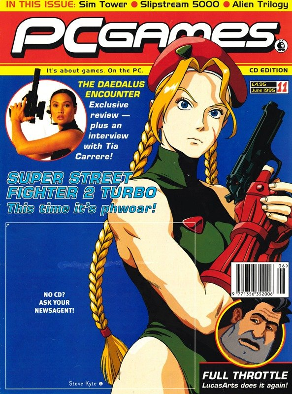 PCGames Issue 11 (June 1995)