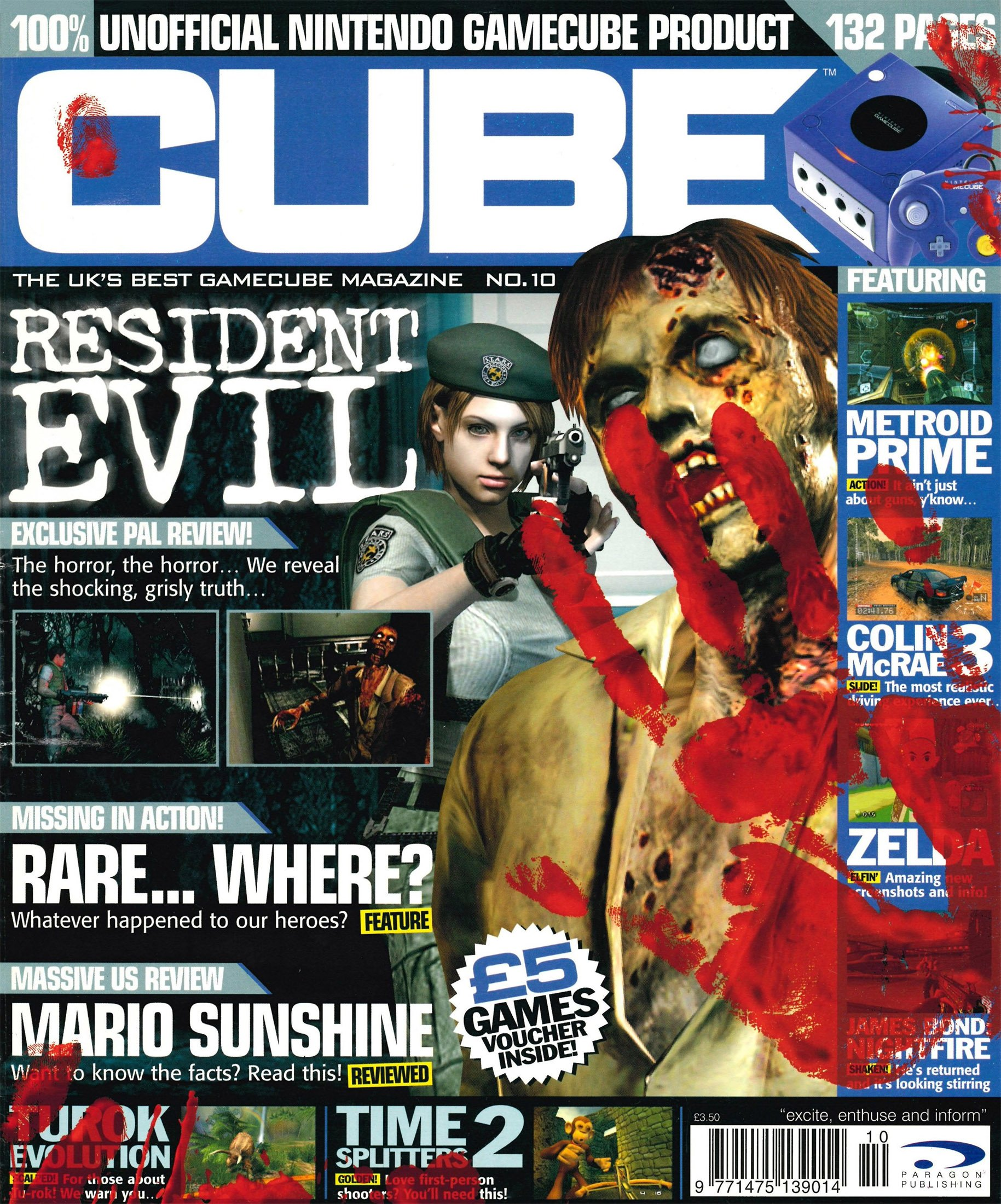 Cube Issue 10 (October 2002)