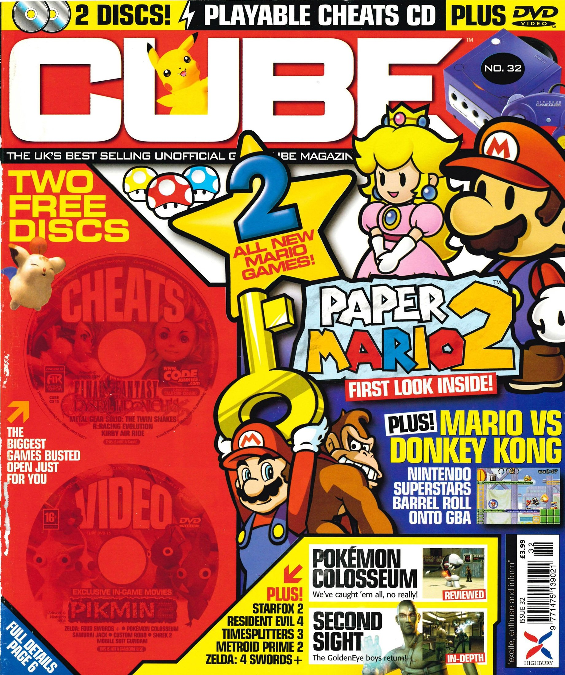 Cube Issue 32 (June 2004)