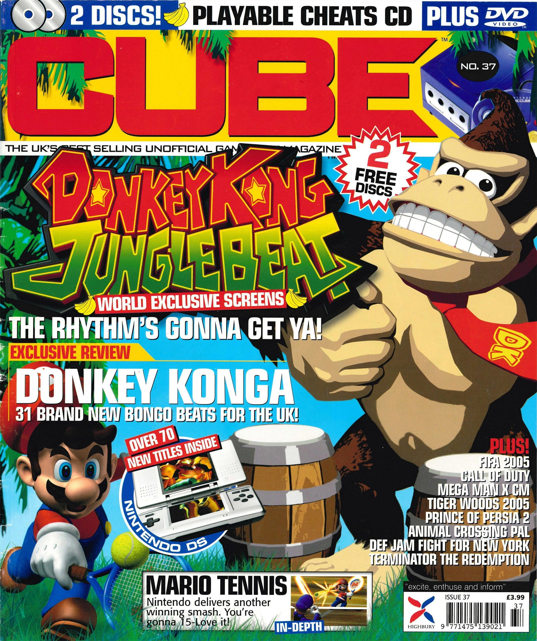 Cube Issue 37 (November 2004)