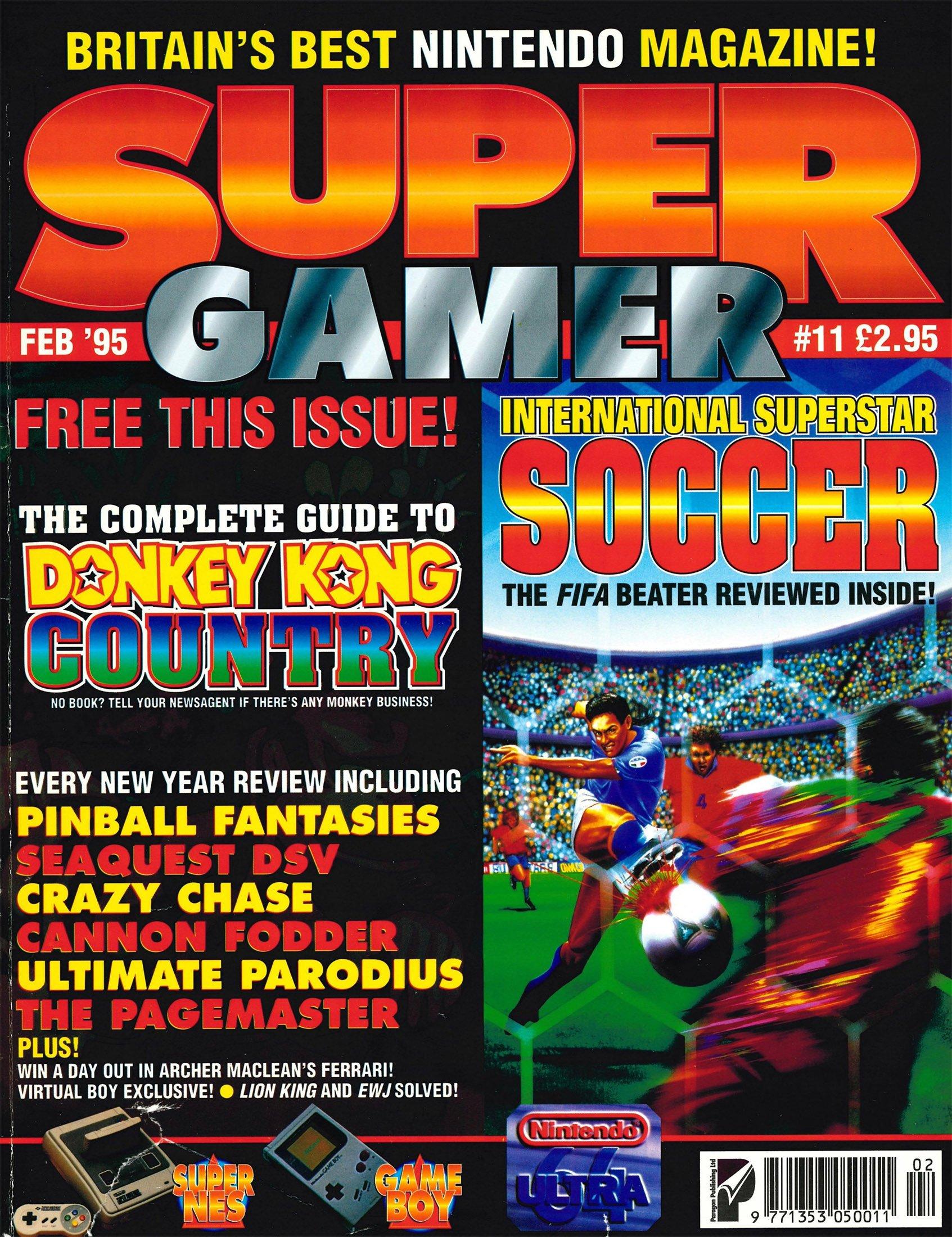 Super Gamer Issue 11 (February 1995)