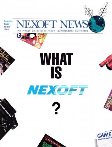 Nexoft News Issue 1 (Winter 1990)