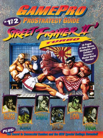 GamePro ProStrategy Guide - Street Fighter II Turbo #1 of 2 (September 1993)
