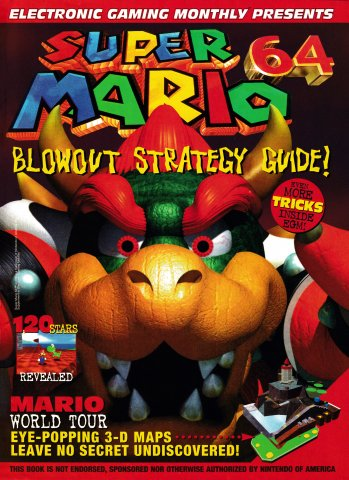 Electronic Gaming Monthly Presents Super Mario 64 Blowout Strategy Guide!