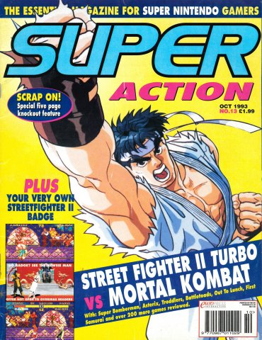 Super Action Issue 13 (October 1993)