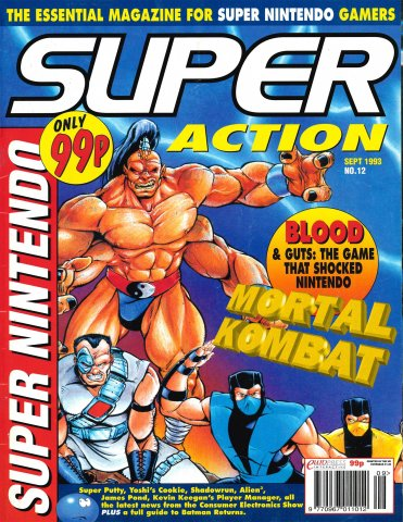 Super Action Issue 12 (September 1993)