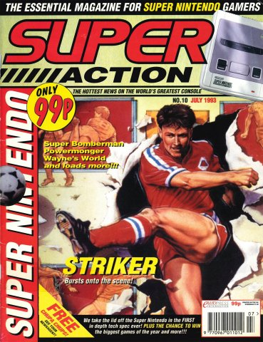 Super Action Issue 10 (July 1993)