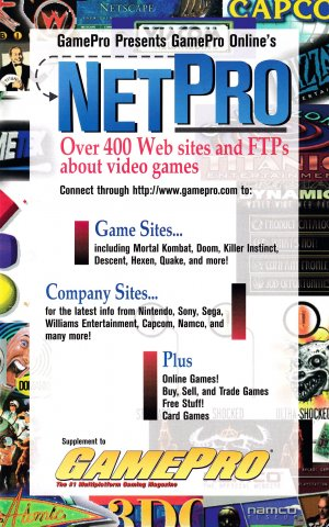 GamePro Issue 086 September 1996 Supplement 1 (GamePro Presents GamePro Online's NetPro)