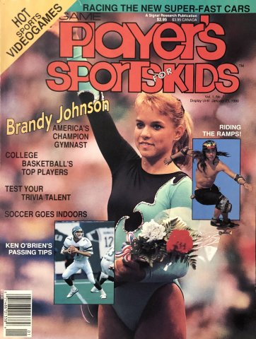 Game Player's Sports for Kids Vol.1 No.1
