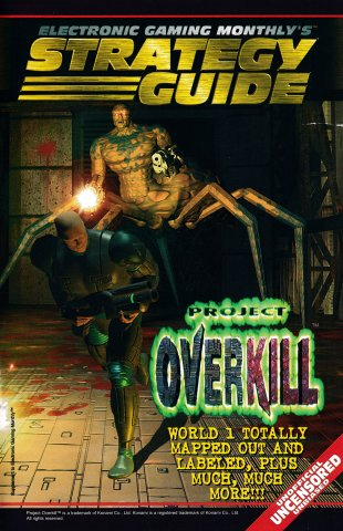 Electronic Gaming Monthly's Strategy Guide - Project Overkill