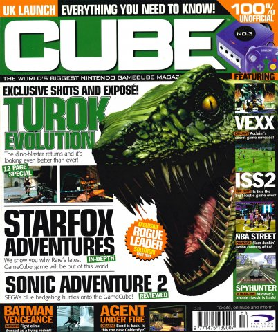 Cube Issue 03 (March 2002)