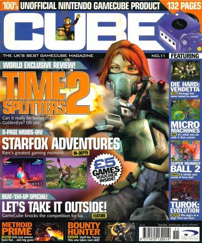 Cube Issue 11 (November 2002)