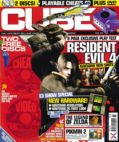 Cube Issue 33 (July 2004)