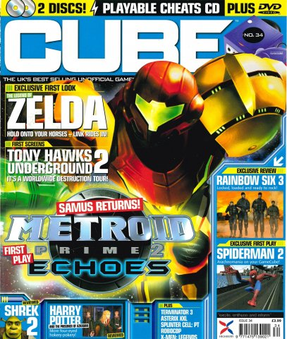 Cube Issue 34 (August 2004)