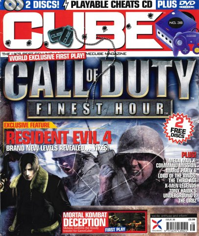 Cube Issue 38 (December 2004)